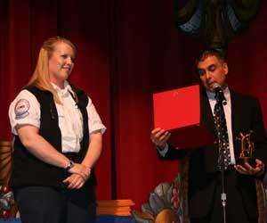 Medical Director Award to Cara Bardwell, American Medical Response