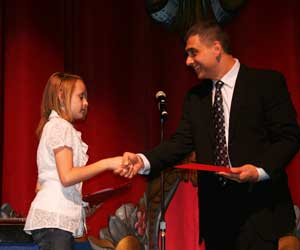 Middle School Essay Award (Kylie Thorndike)